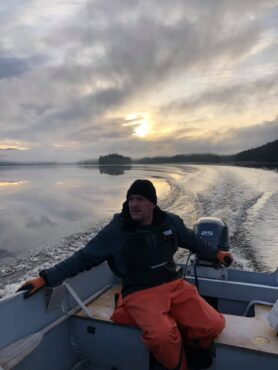 Charter Captain during the lodge fishing season, ice breaker during the winter.